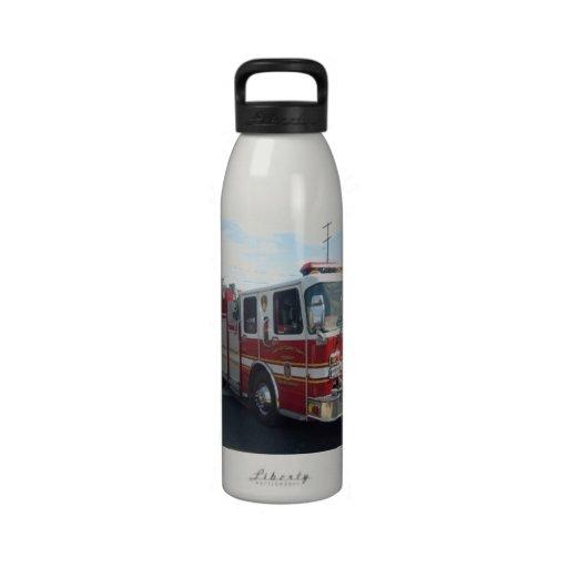 botella del bombero botellas de agua reutilizables