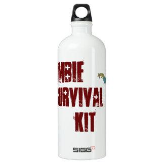 Botella del equipo de supervivencia del zombi