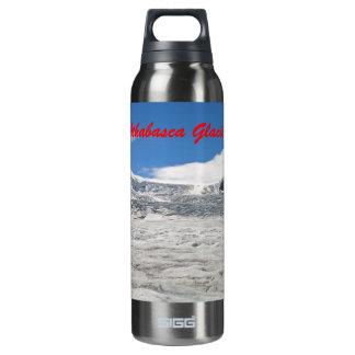 Botella del glaciar de Athabasca