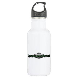 Botella del logotipo H20 del UFO
