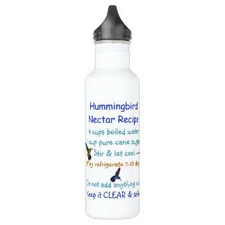 Botella del néctar del colibrí