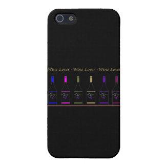 BOTELLA DEL VINO LOVER_6 iPhone 5 CARCASAS