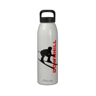 Botella en declive 3 del esquí del deporte de invi botallas de agua