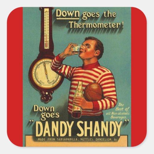 Botella excelente de la bebida de la cerveza con colcomania cuadrada