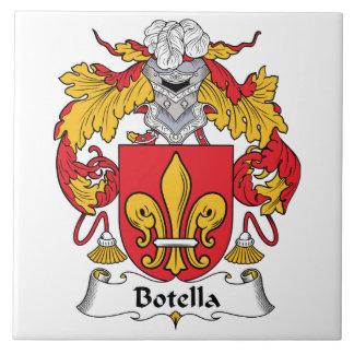 Botella Family Crest Tile