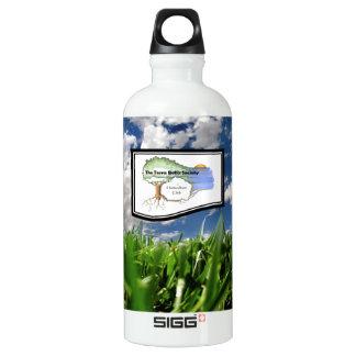 Botella-Hierba de aluminio reciclada del agua de