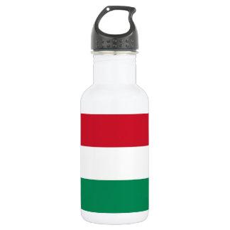 Botella húngara de la libertad de la bandera