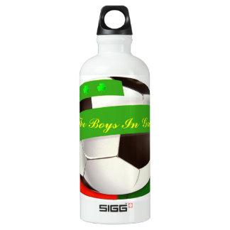 Botella irlandesa de la libertad del fútbol