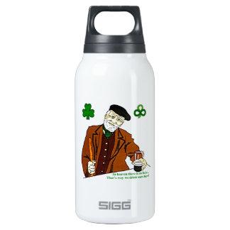 Botella irlandesa vieja del bebedor