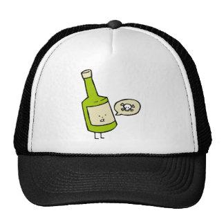 Botella linda del veneno gorras de camionero