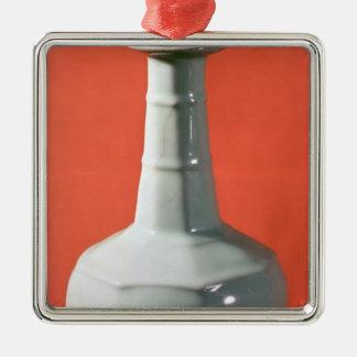 Botella octagonal de Kuan Yao, meridional cantada Adorno Cuadrado Plateado