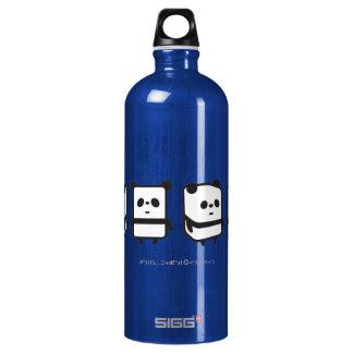 Botella - panda de la caja de giro -