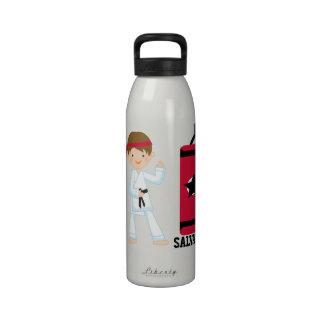 Botella personalizada de la botella del karate botella de agua