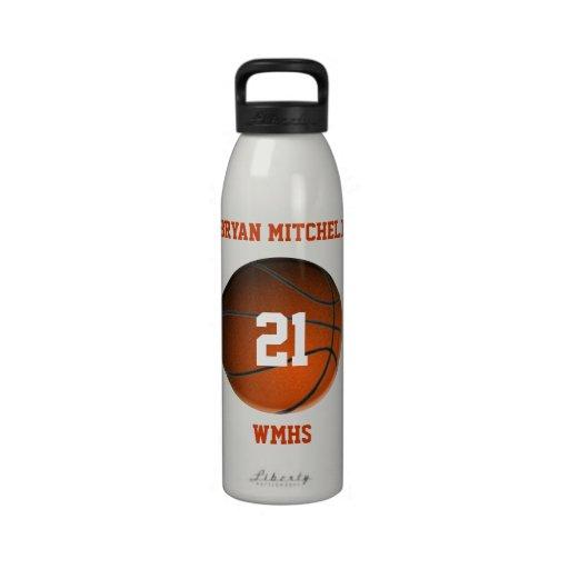 Botella personalizada de la libertad del nombre de botella de agua