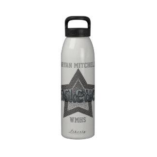 Botella personalizada de la libertad del nombre de botella de agua reutilizable