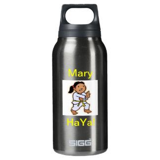 Botella personalizada karate de la libertad