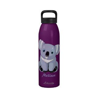 Botella personalizada koala de la libertad botallas de agua