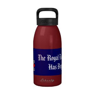 Botella real de la hidración de la revolución botallas de agua