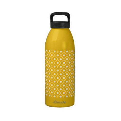 Botella reciclada modelo anaranjado de Argyle Eco  Botella De Agua