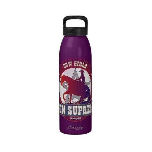 Botella suprema de la libertad del caballo de la r botella de agua