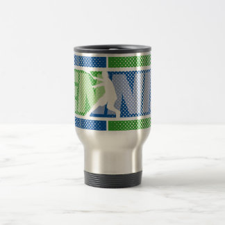 Botella/taza de la bebida del tenis con diseño taza de viaje