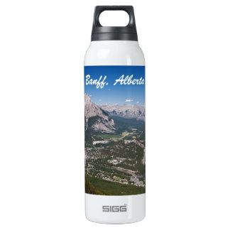 Botella terma de la opinión de Banff