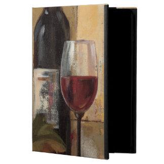 Botella y copas de vino de vino