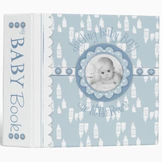 """Botella y libro de la memoria del bebé del pacific carpeta 2"""""""