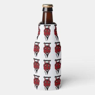 Botella y neverita de bebidas hermosos del diablo enfriador de botellas