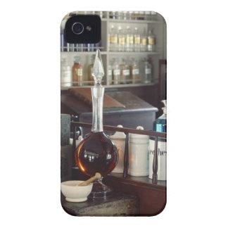 Botellas antiguas de la farmacia Case-Mate iPhone 4 cárcasas
