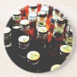 Botellas, botellas y más prácticos de costa de las posavasos manualidades