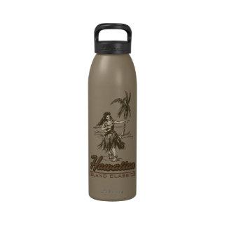 Botellas de agua de la isla hawaiana de Tradewinds Botallas De Agua