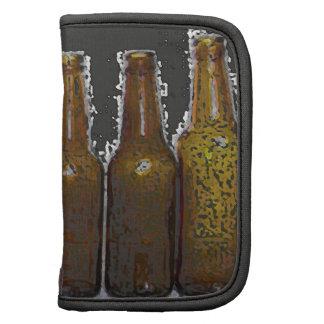 Botellas de cerveza planificador