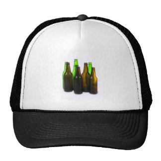 botellas de cerveza gorros