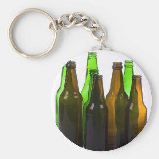 botellas de cerveza llavero redondo tipo pin