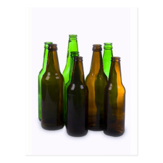 botellas de cerveza postal