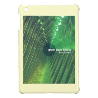 Botellas de cristal verdes
