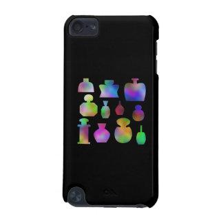 Botellas de perfume multicoloras carcasa para iPod touch 5G