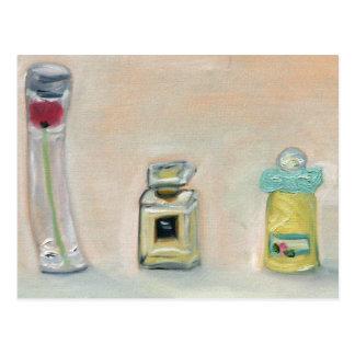 """""""Botellas de perfume """" Tarjetas Postales"""