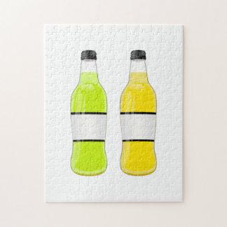 Botellas de soda rompecabeza