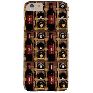 Botellas de vino en caso más del iPhone 6 del Funda Para iPhone 6 Plus Barely There