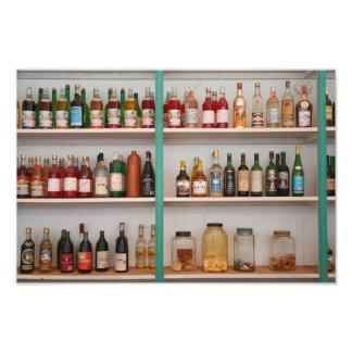 Botellas del licor fotografías
