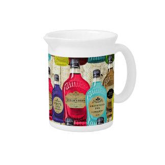 Botellas del tónico del boticario de la poción mág jarra para bebida