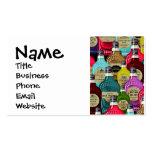 Botellas del tónico del boticario del doctor de br tarjeta de negocio