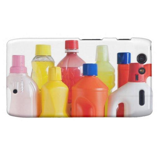 botellas detergentes plásticas motorola droid RAZR funda