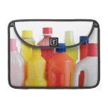botellas detergentes plásticas funda macbook pro