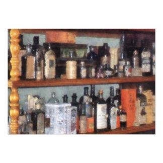 Botellas en tienda general anuncios