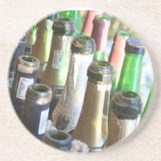 Botellas vacías posavasos para bebidas