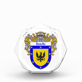 Botello Coat of Arms Family Crest Awards