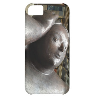 Botero in the Rain iPhone Cover